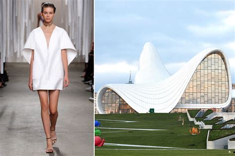 Designers And Architects | 8 fashion designers inspired by architecture