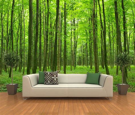 best peel and stick wallpaper wall art design ideas peel stick forest wall art