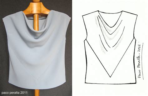 Pattern Review Paco Peralta Draped Top Gorgeous