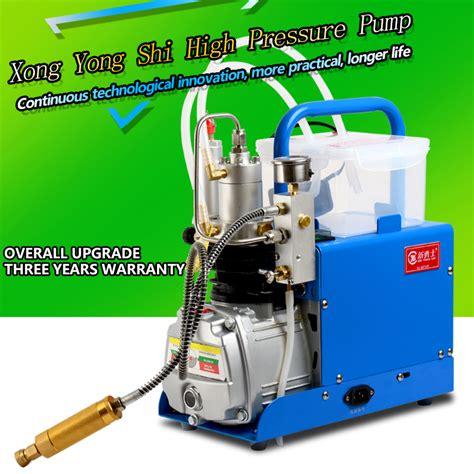 Kompresor Pcp ᓂxinyongshi mini compressor 4500psi ᐃ compressor compressor 300bar pcp 30mpa us124