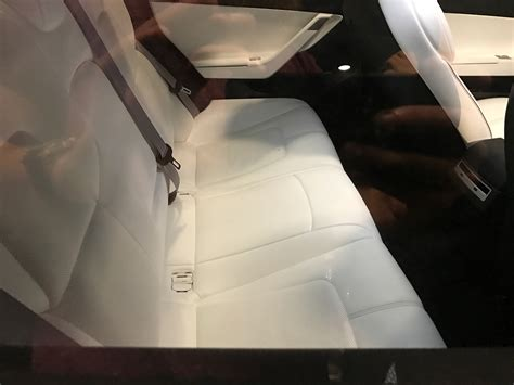 tesla model 3 interior seating model 3 shows glass roof shots and new steering at tesla