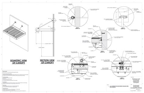 awning details entrance overhead canopy details commercial metal