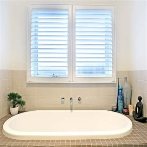 bathroom shutters interior pvc plantation shutters melbourne into blinds