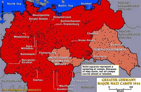 map of germany 1944 map of cs in greater germany 1944