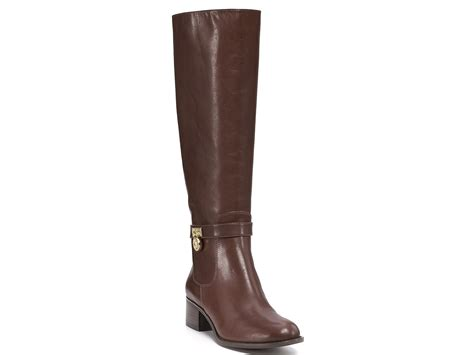 michael kor boots michael kors michael hamilton boots in brown lyst