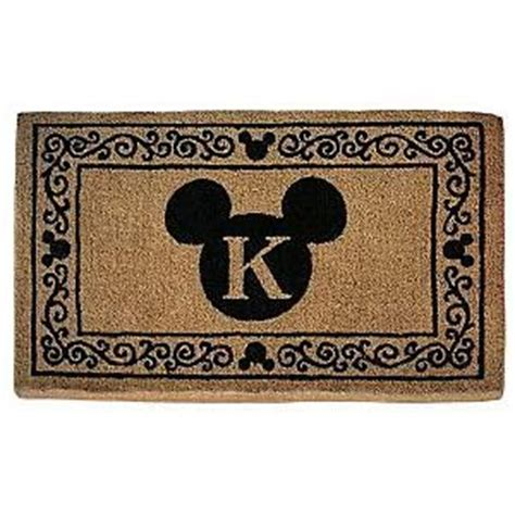 Disney Welcome Mat by Mickey Icon Personalized Doormat Review Kaboodle