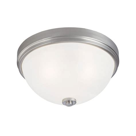 3 Light Flush Mount Ceiling Fixture Westinghouse 3 Light Ceiling Fixture Brushed Nickel Interior Flush Mount With Frosted White