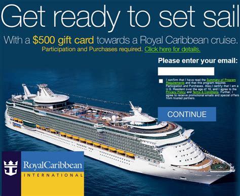 Royal Carribean Gift Card - royal caribbean cruise gift certificates detland com