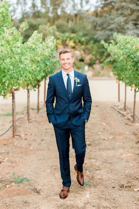 Backyard Wedding Groom Attire Best 25 Blue Suit Brown Shoes Ideas On Navy