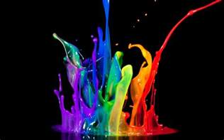 3d color wallpapers color splash wallpapers
