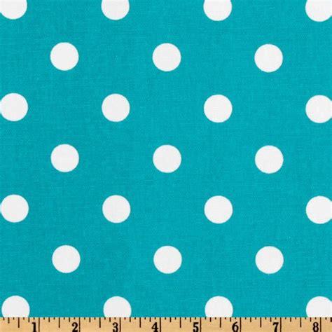 Gray Linen Upholstery Fabric Premier Prints Polka Dot Slub Turquoise White Discount