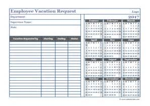 vacation template excel 2017 vacation excel template printable pdf 2017