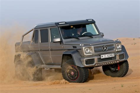 mercedes benz 6x6 2014 mercedes benz g63 amg 6x6 front three quarter motion