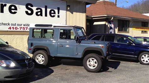 90s land rover for sale 1997 land rover defender 90 for sale 417 youtube