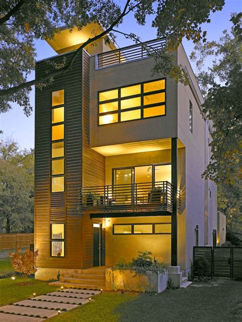four story house modern house design ideas
