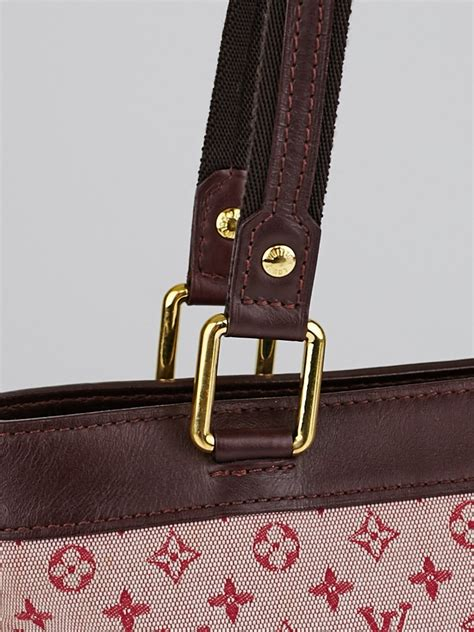 louis vuitton cherry red monogram mini lin lucille pm tst