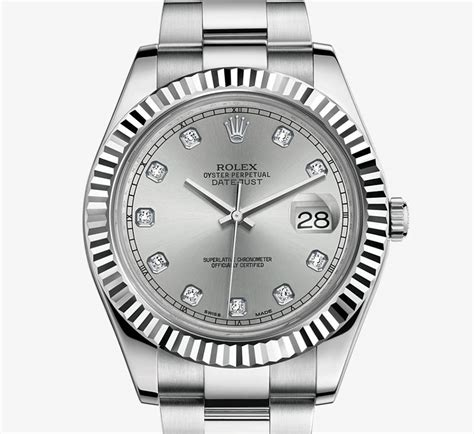 Rolex Datejust Combi Gold For rolex datejust ii white rolesor combination of 904l steel and 18 ct white gold