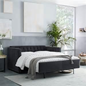 rochester deluxe sleeper sofa west elm