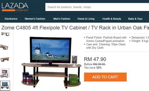 Rak Tv Lazada beli rak meja tv murah ecommerce in malaysia