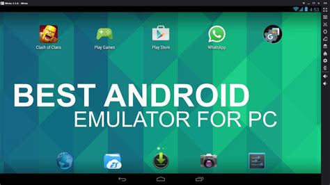 top android 10 best android emulators for windows 2018 likelylive