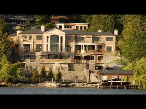 Paul Allen House Mercer Island Youtube