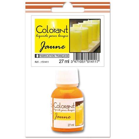 coloranti per candele colorante liquido per candele giallo x27ml perles co