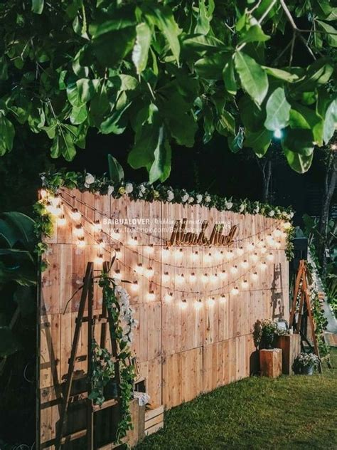 creative backyard wedding ideas   budget