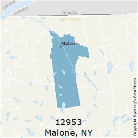 malone ny map best places to live in malone zip 12953 new york
