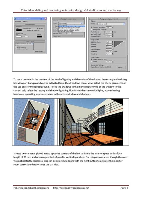 Interior Design Tutorials Pdf by Tutorial Modeling And Rendering An Architectural Interior