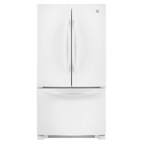 kenmore door refrigerator kenmore 72012 24 8 cu ft door bottom freezer