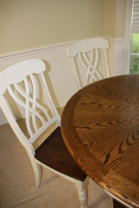 that village house kitchen table redo linky party