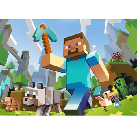 mind craft for minecraft steve a4 cake image cake icing image this