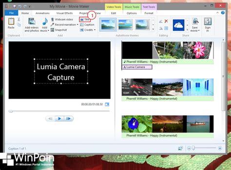 membuat video animasi movie maker cara membuat video dengan windows movie maker winpoin