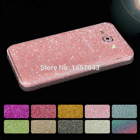 Samsung J7 2015 J700 Skin Gliter Garskin Gliter Stiker Gliter 40 fashion glitter sticker front back cover for samsung galaxy a3 a5 a7 j1 j3 j5 j7 2016 grand
