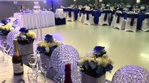 blue outdoor decorations e halisi decor royal blue wedding decoration