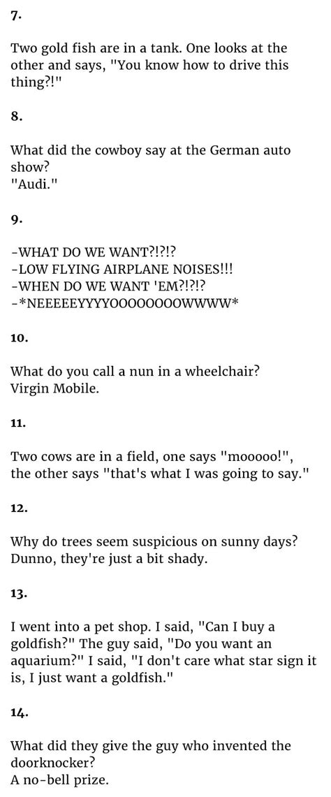short clean jokes   surprisingly funny number