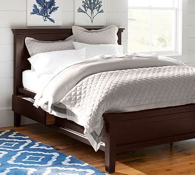 pottery barn storage bed farmhouse storage bed pottery barn