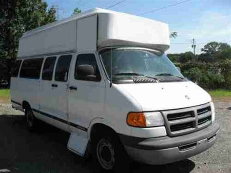 airbag deployment 2003 dodge ram van 3500 electronic throttle control purchase used 2003 dodge 3500 ram van wheelchair lift 1 owner clean in new tires no reserve in