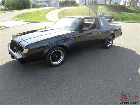 1986 buick grand national gnx clone clean