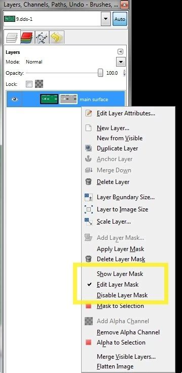 gimp show mask layer black transparency techie beginners nlsc forum beginners guide to dds files and gimp alpha