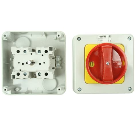 gewiss 32 2 pole rotary isolator at uk electrical supplies