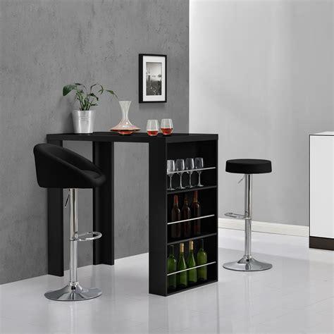 ebay casa en casa mueble barra de bar negro mojada mesa mostrador