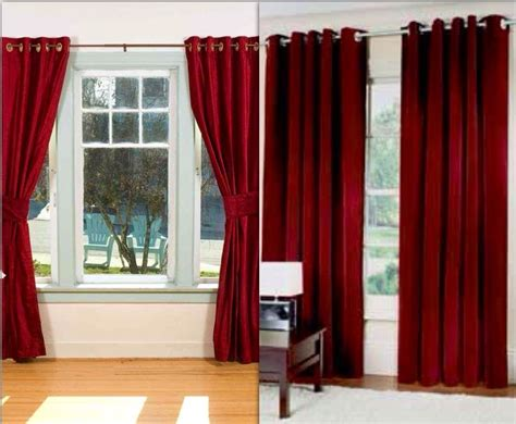 Burgundy Velvet Curtains Thick Burgundy Velvet Curtains Jorgie S Win Display Pinterest