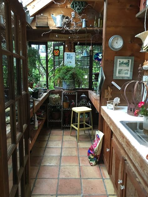 perfect potting shed  montana happy
