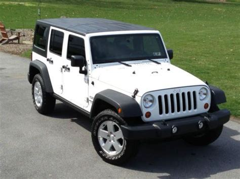 Jeep Wrangler 4 Door Hardtop Used Sell Used 2013 Jeep Wrangler Unlimited 4 Door 4wd Hardtop