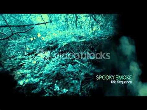 After Effects Ae Cs5 Template Spooky Smoke Intro Youtube After Effects Smoke Intro Template