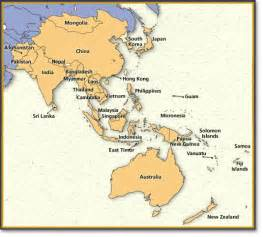 Map Of Asia Pacific by Asia Pacific Welcome