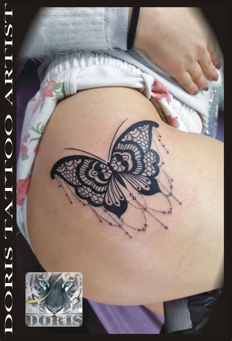 butterfly tattoos on thigh best 25 butterfly thigh ideas on