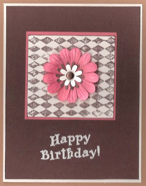 Easy Handmade Card - handmade birthday cards for let s celebrate