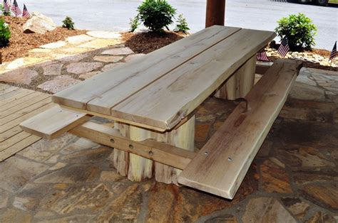 Handmade Patio Table - rustic outdoor furniture handmade by appalachian designs